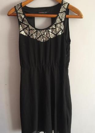 Женское шифоновое платье немецкого бренда