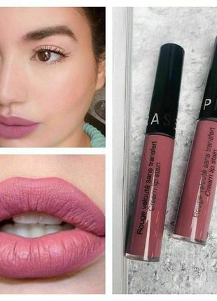 Матовая помада sephora cream lip stain liquid lipstick
