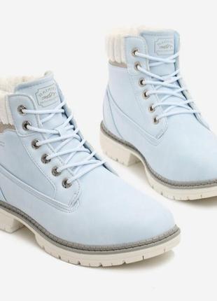 Зимние ботинки ботильоны ботики тимбер