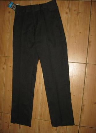 """Новые школьные брюки """"bнs"""" на 11 лет пояс-резинка"""