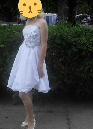 Вечернее (выпускное ) платье с корсетом
