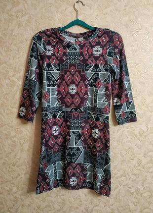 Платье с накидкой обманкой topshop