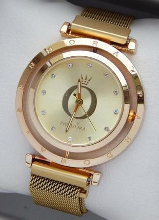 Женские наручные часы с вращающимся циферблатом, на магнитной ...