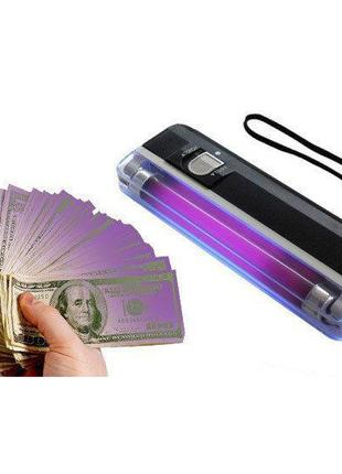 Детектор валют портативный на батарейках 01DL