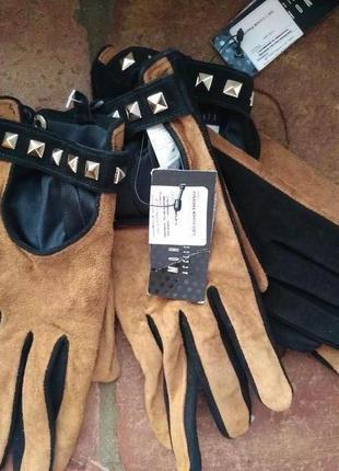 Mohito перчатки из натуральной замши
