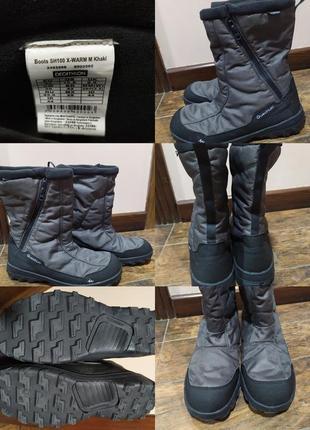 Новые непромокаемые термо ботинки