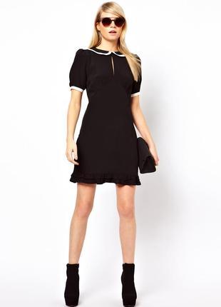Платье asos с милым воротничком