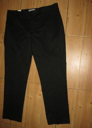 """Новые черные брюки """"cedarwood"""" w 40 l32"""