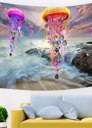 Гобелен настенный Медузы