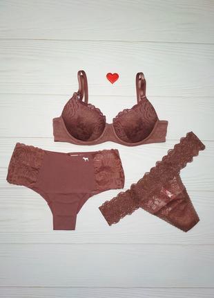 Комплект белья victoria's secret pink оригинал