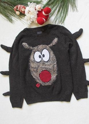 Детский свитер на мальчика от next (75), 7 лет (122 рост)