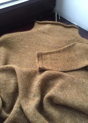 Теплый свитер. шерсть. мохер