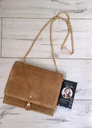 Кросс боди (сумочка)  Esmara,  оригинал,  натуральный замш