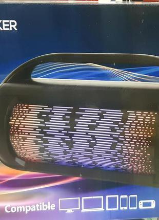 Колонка в виде бумбокса А 612от сети и от аккумулятора с USB, ...