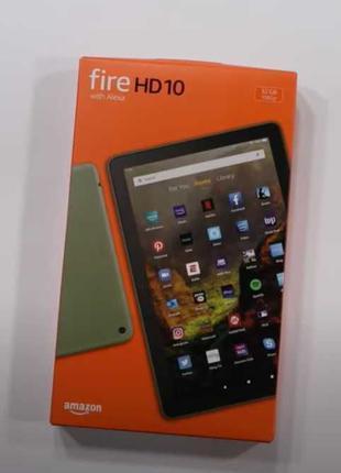 Планшет Amazon Fire HD 10 (32 GB, Black) 11 поколение (2021 год)