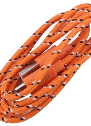 Витой кабель 3 метровый usb-microUSB