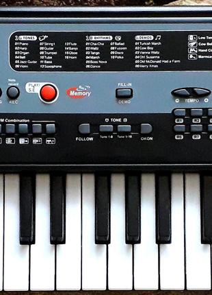 Пианино синтезатор MQ 805 USB 37 клавиш, mp3,usb,микрофон от сети
