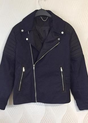 Мужская демисезонная куртка косуха h&m