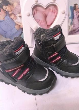 Зимние ботинки jong golf для мальчика