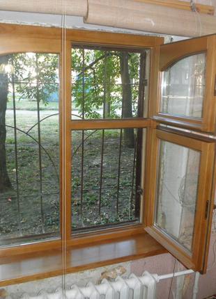 Изготовление и установка деревянных окон, балконных блоков,дверей