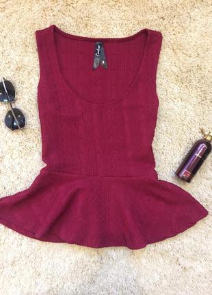 Блуза красивого цвета майка футболка топ