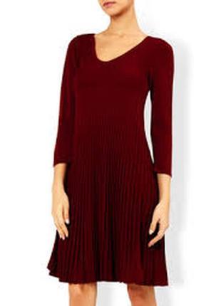Трикотажное платье monsoon  в рубчик 52-54-56
