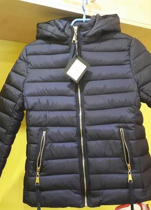 Теплая демисезонная куртка пуховик braggart