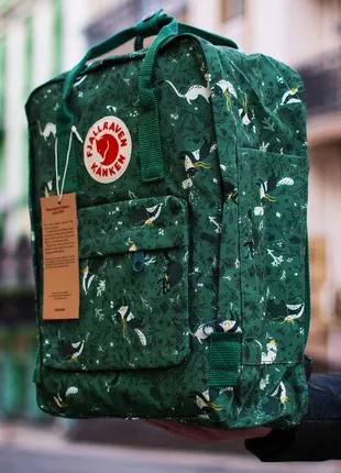 Оригинальный рюкзак Fjällräven Kanken Classic портфель канкен