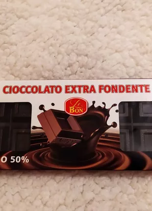 Твердый черный шоколад 500г