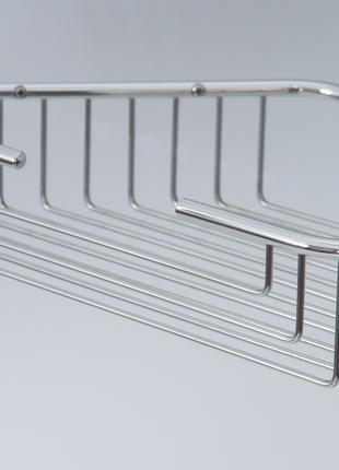Полка(корзина)-решетка для душа из нержавеющей стали