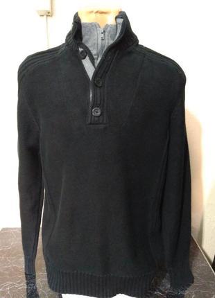 Burton. тёплый свитер с высокой горловиной на молнии