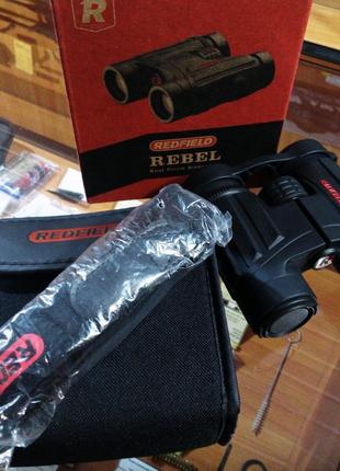Бинокль Redfield Rebel 8x32 Black США. Распродажа остатков!