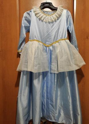 Новогоднее платье королевы,принцессы,снежная королева