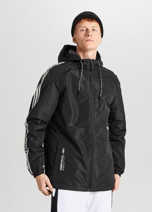 Новая мужская спортивная куртка с капюшоном cropp