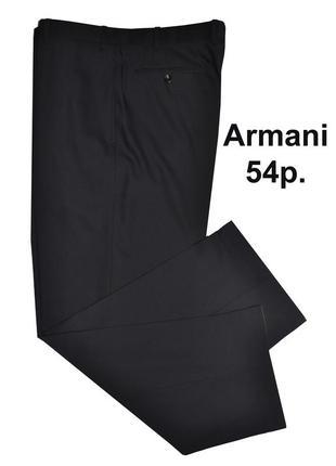 Классические брюки armani collecioni черные 54р. италия оригинал