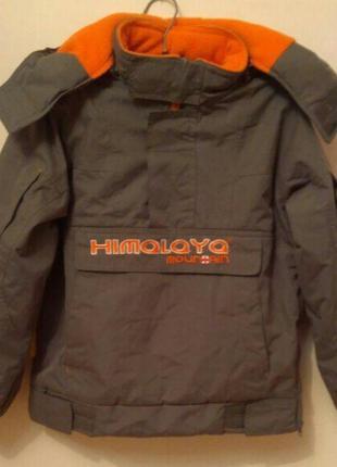Куртка термо фирменная himalaya mountain . на 8 лет , на рост ...
