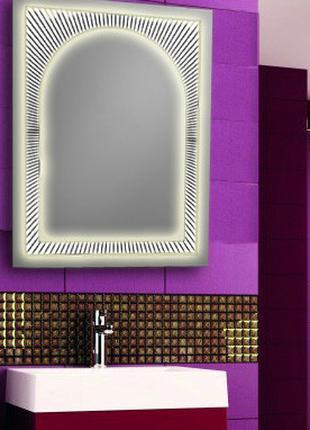 Зеркало со светодиодной подсветкой 600х800зеркало с подсветкой...