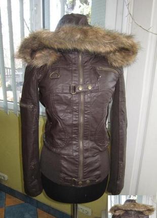 Модная женская куртка с капюшоном only. испания. лот 678