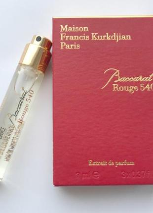 Baccarat rouge 540 extrait de parfum от m.f.kurkdjian_original