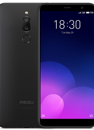 MEIZU 6T Meilan (M6T) 2Gb 16Gb Black, Наложка, Чехол и Пленка