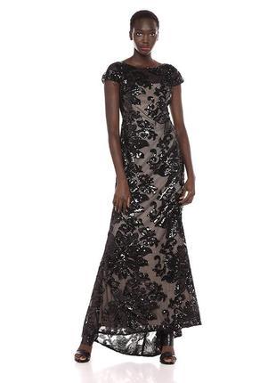 Блестящее вечернее платье calvin klein оригинал