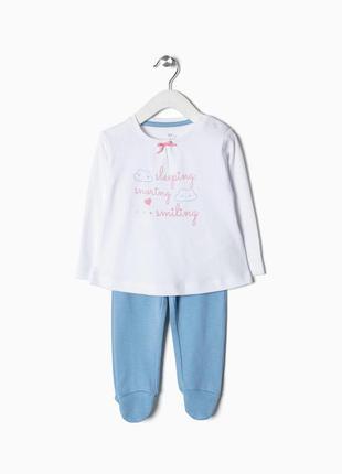 Комплект пижама малышке zippy испания