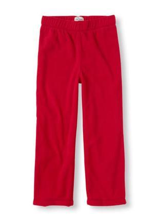 Теплые флисовые штанишки мальчишке