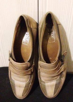 Туфли лоферы швейцарской фирмы bally{ vogue series}