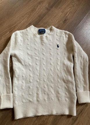 Теплый свитер polo ralph lauren
