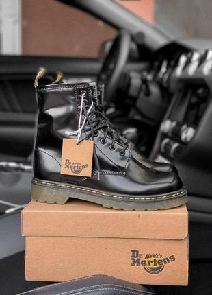 Шикарные женские зимние ботинки  dr. martens 1460
