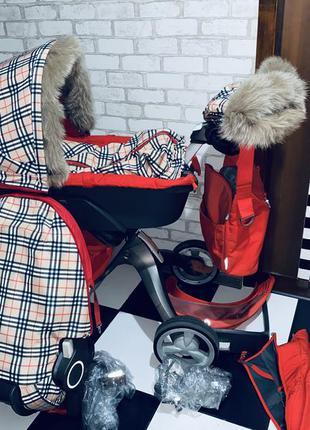 Детская коляска 2в1 stokke xplory v4