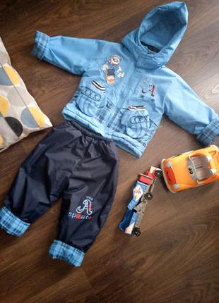 Зимний костюмчик на мальчика 1-2 года
