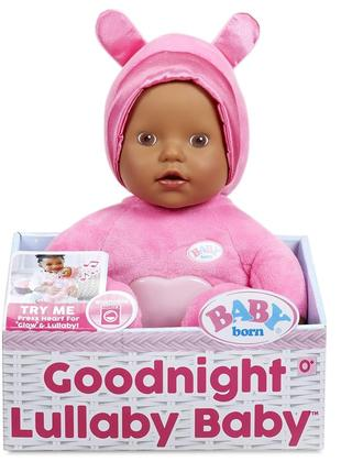 Baby Born Goodnight Lullaby кареглазая девочка