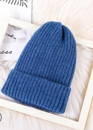 13-237 красива в'язана шапка вязаная шапка